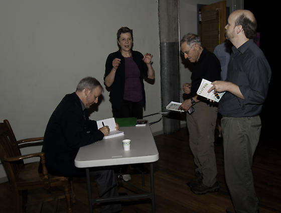 Eric at Chicago book signing