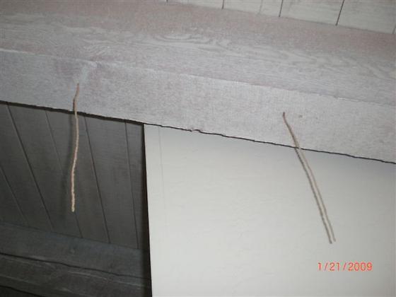 found hanging in livingroom