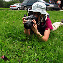 Kris Stalks the Wild Swallowtail - female