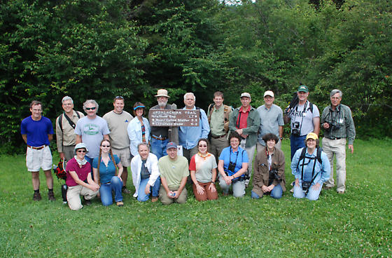 Bugguide Gathering 2008 - group photo in the Smokies