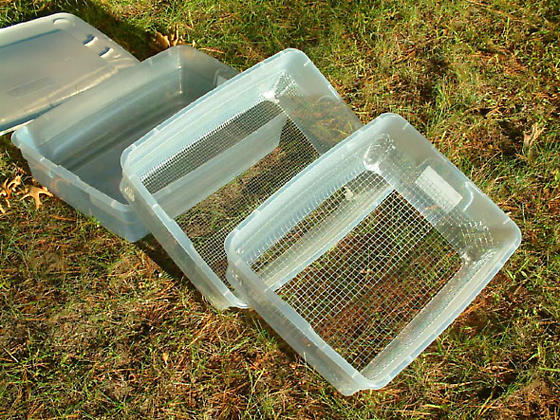nesting litter sifters