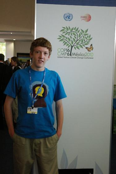 Corey Husic at the 2010 UNFCCC meeting - male